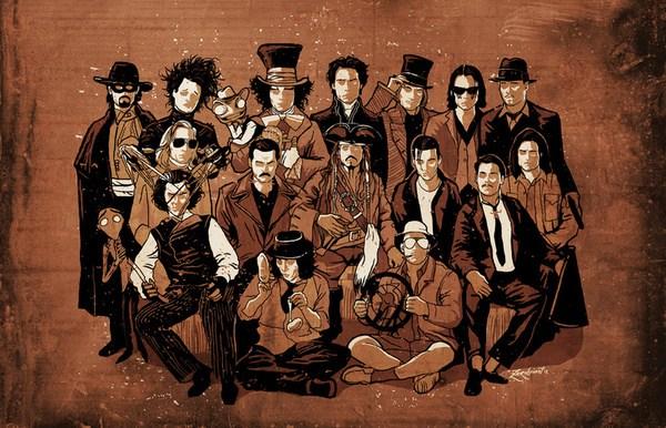 Johnny Depp'in canlandırdığı en ilginç karakterler
