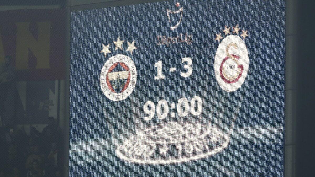 Galatasaray 20 yıllık Kadıköy hasretini sona erdirdi! İşte maçtan sonra yaşananlar…