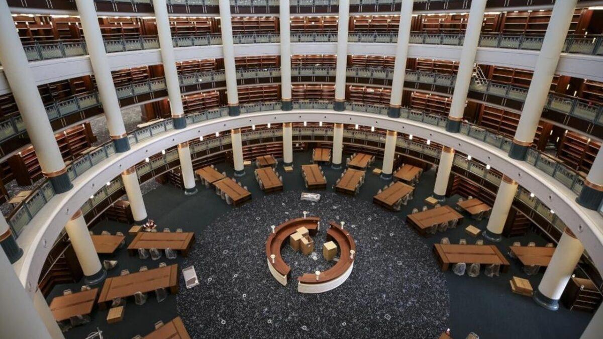 Türkiye'nin en büyük kütüphanesi: Millet Kütüphanesi