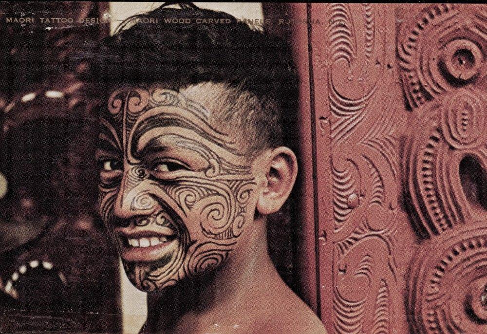 maori dövmeleri